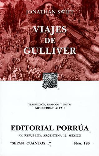Viajes de gulliver sc196 - jonathan swift - porrúa
