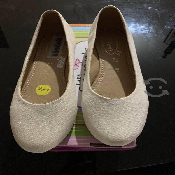 Zapatos para niña numero 21