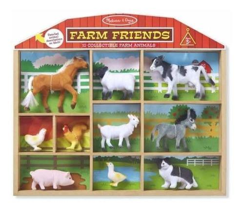 Animales de granja con textura melissa and doug