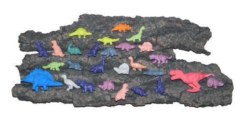 Animales miniatura de goma dinosaurios colección 27 piezas