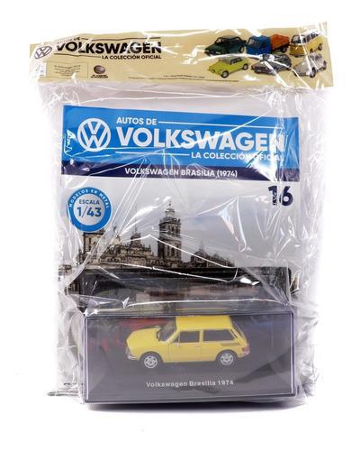 Auto escala coleccion oficial de volkswagen miniatura vw