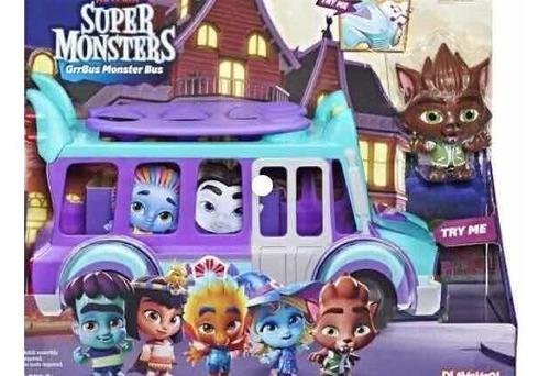 Bus supermonstruo super monster netflix autobus sonidos luz