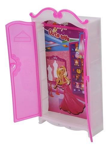 Casa de muñecas en miniatura muebles dormitorio armario hec
