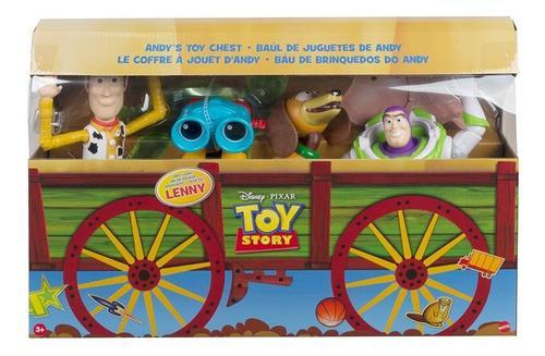 Disney pixar toy story baúl juguetes andy figuras acción
