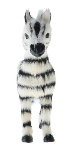 Estatua de animales de peluche realista en miniatura