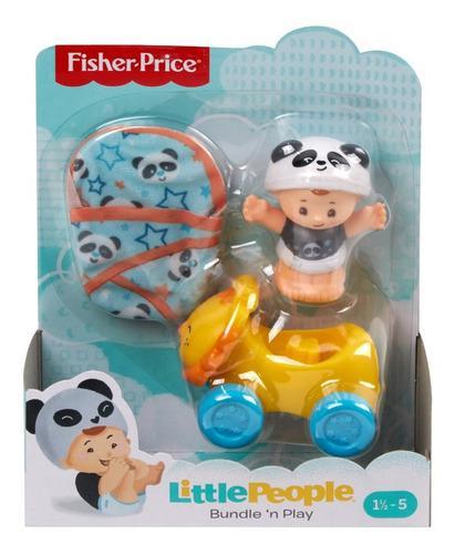 Fisher-price little people, juguete junta y juega panda