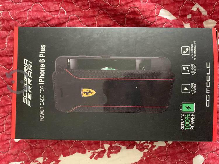 Funda iphone 6 plus cargador