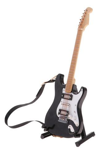 Guitarras eléctricas miniatura para casa muñecas 1/6