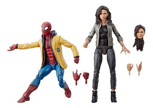 Marvel legends spiderman 2 pack: spiderman & mary jane