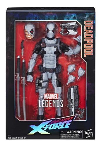 Marvel legends x force deadpool hasbro