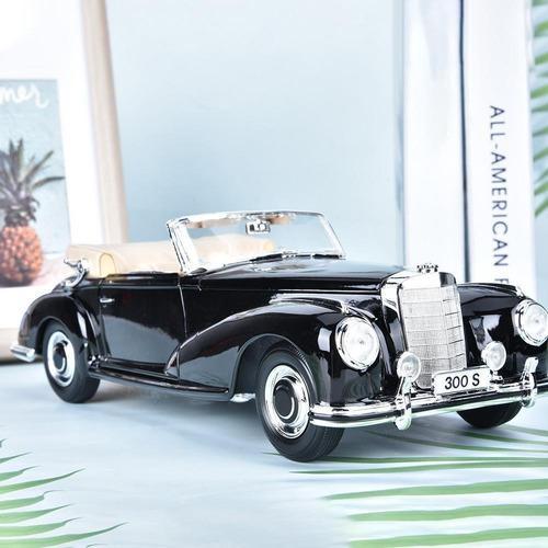 Miniatura de aleación vintage modelo de coche para mercedes