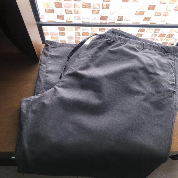 Pantalón casual calvin klein con jareta xl