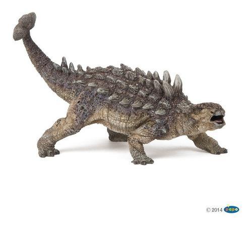 Papo figura dinosaurio ankylosaurus de colección original