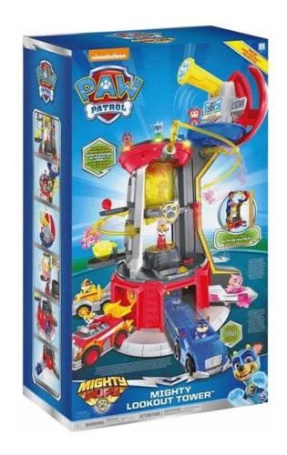 Paw patrol torre gigante mighty pups