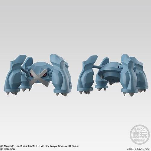 Pokemon figura shodo articulada de metagross con comet punch