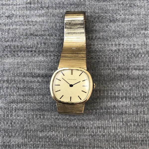 Reloj longines mecanic swiss vintage oro cuerda ma