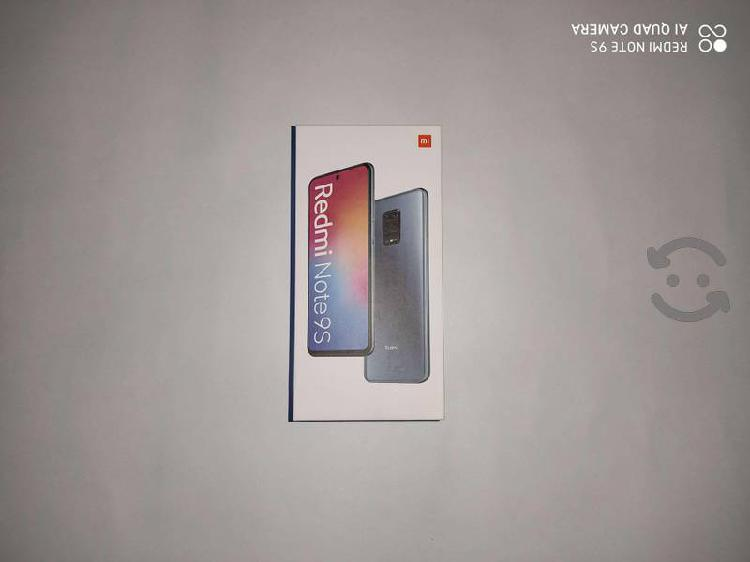 Smartphone xiaomi redmi note 9s plus 6gb / 128gb