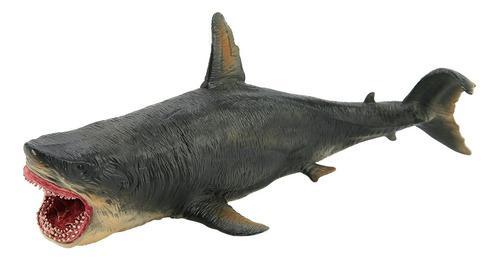 Simulation tiburón miniatura de juguete de la colección fi