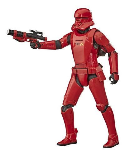 Star wars figura black series, bruges rocket red, 6