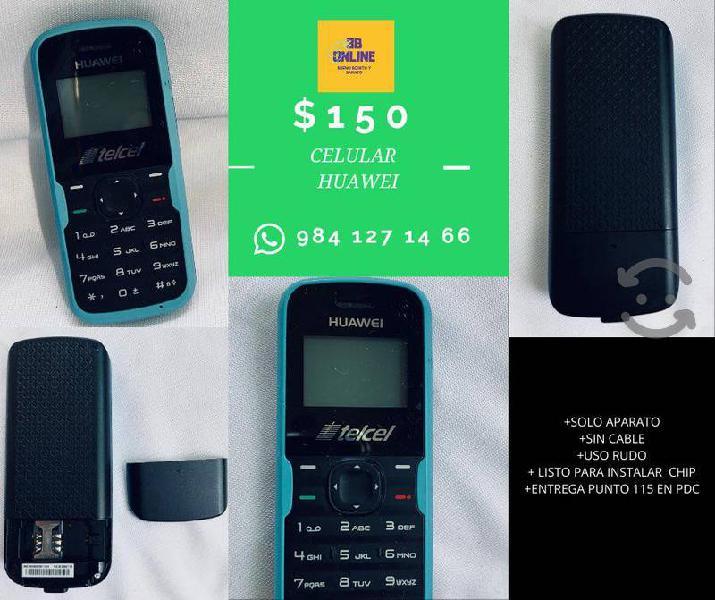 Telefono huawei cachuate uso basico de telefonia