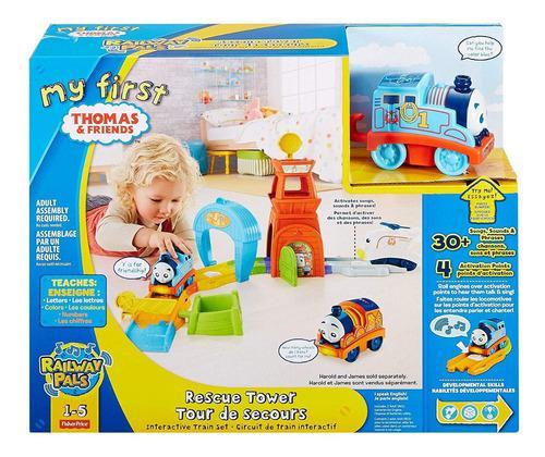 Thomas y sus amigos minis pista locura en miniatura fisher p