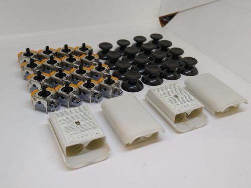 16 joystick xbox 360 cf 16 tapa capuchón 4 portapilas