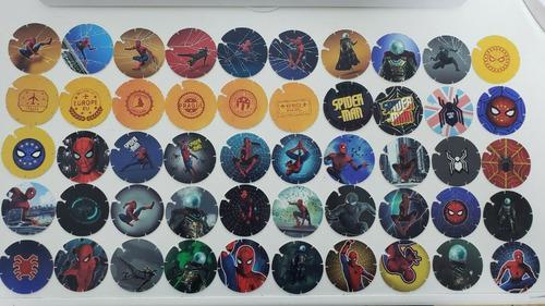 50 mega tazos spiderman 2019 coleccion completa nuevos