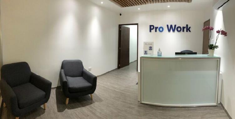 Centro de negocios prowork center renta oficinas en vista