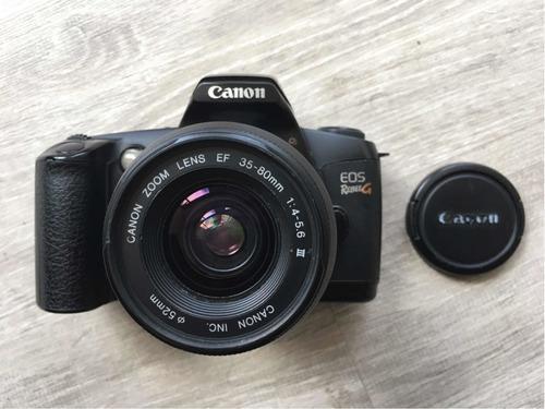 Cámara canon eos rebel g análoga lente 35-80mm (vs ae1)