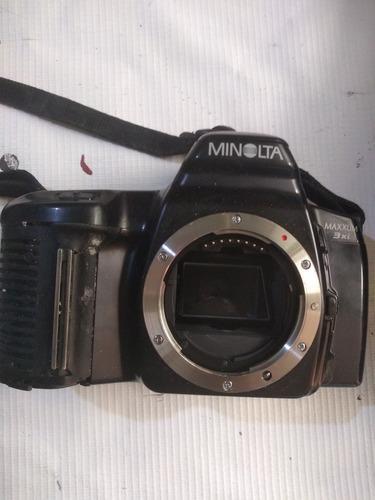 Cámara profesional analogica minolta maxxun 3xi