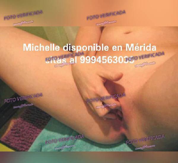 Michelle disponible hoy por 600 pesos vaginal y anal