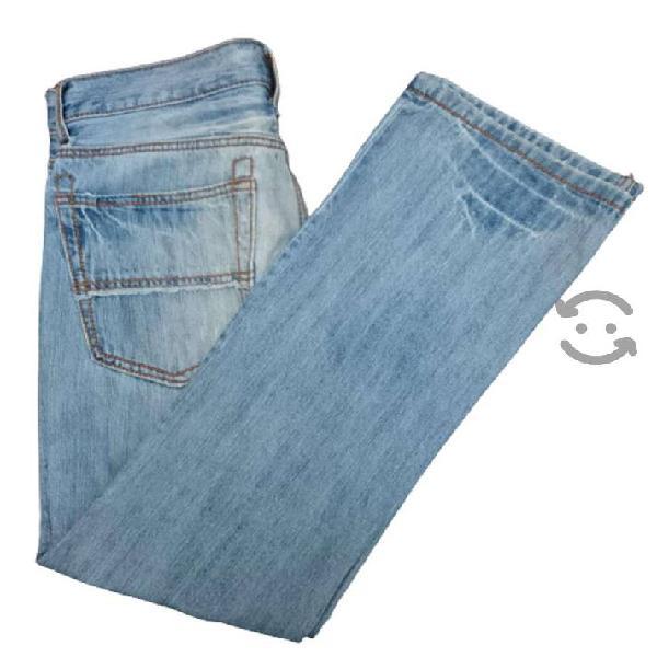 Pantalón de mezclilla para hombre corte slim boot