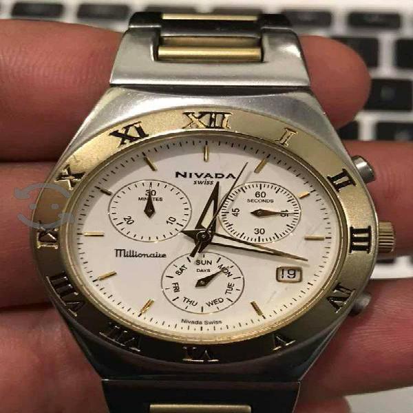 Reloj de caballero nivada
