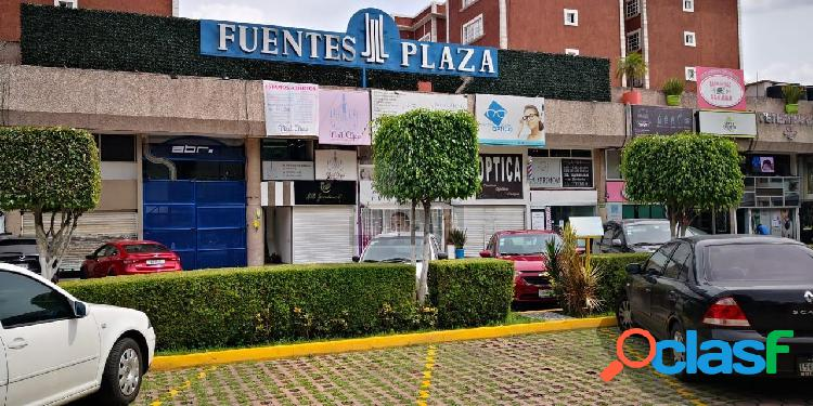 Local comercial en renta en coyoacan, local en renta en plaza fuentes local comercial en renta 56m2