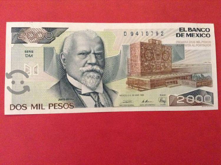 29 billetes de justo sierra nuevos sin circular