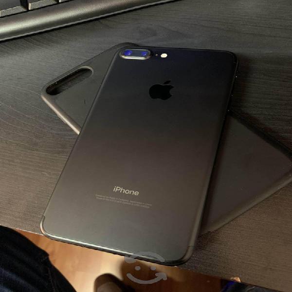 Iphone 7 plus 256 gb liberado, pantalla estrellada