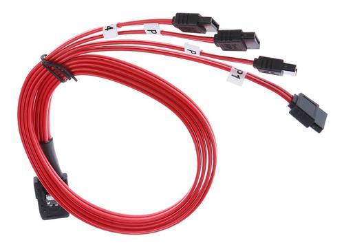 Mini sas sff-8087 a 4 cables para disco duro sata