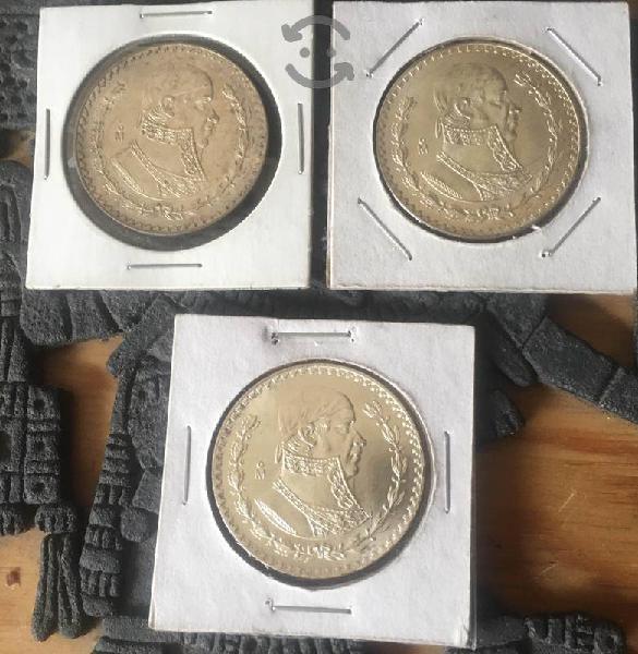 Monedas $1 morelos tepalcate