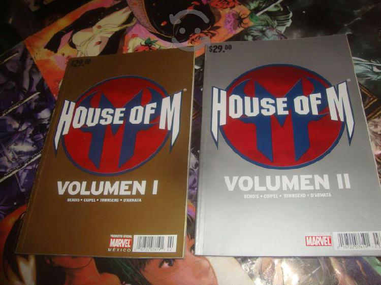 Pack 2 tomos house of m