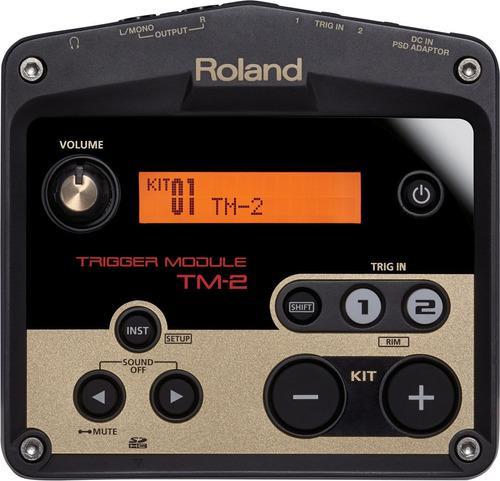 Roland tm-2 módulo disparador para dos triggers de batería