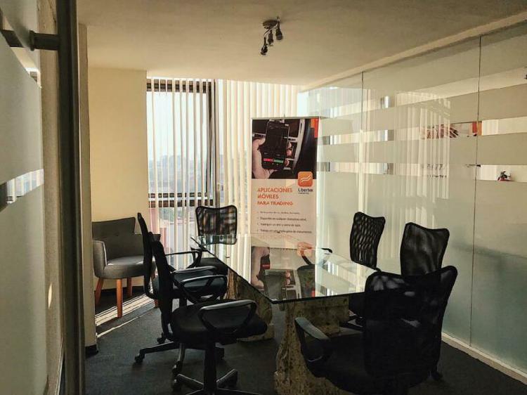 Se renta oficinas amuebladas