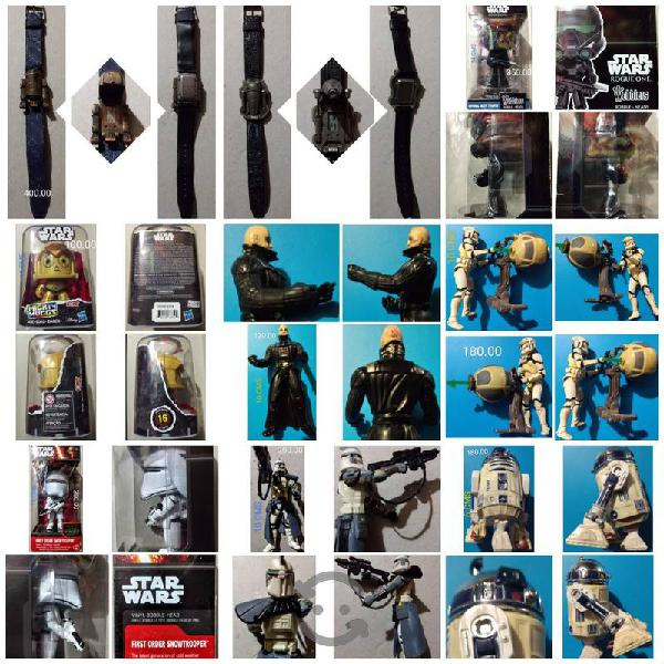Star wars precio, medida y estado en fotos