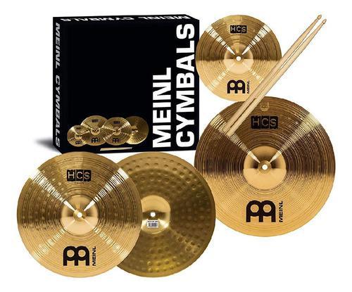 Set de platillos para bateria meinl, cymbal set