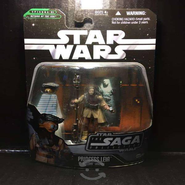 Star wars princess leia boushh the saga
