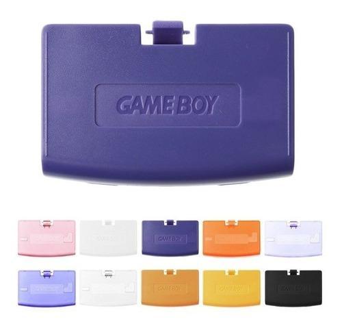 Tapa bateria gameboy advance naranja cristal