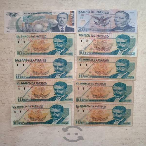 Billetes de nuevos pesos