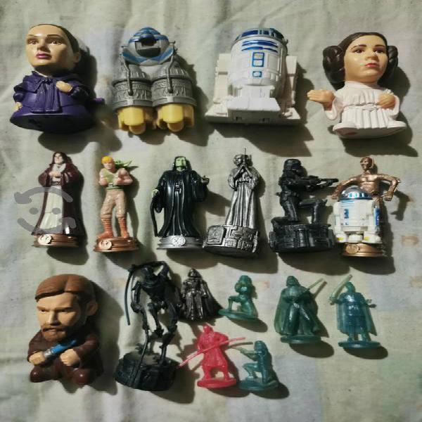 Figuras de coleccion star wars tal y como se ven
