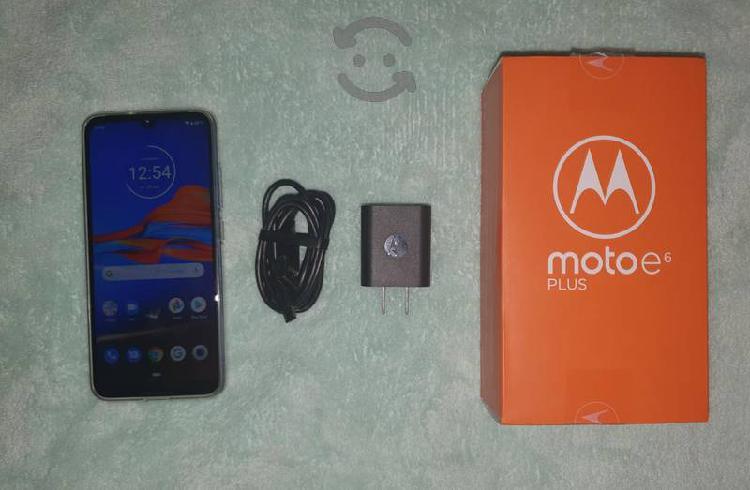 Moto e6 plus edición especial 4 gb ram + 64 gb new