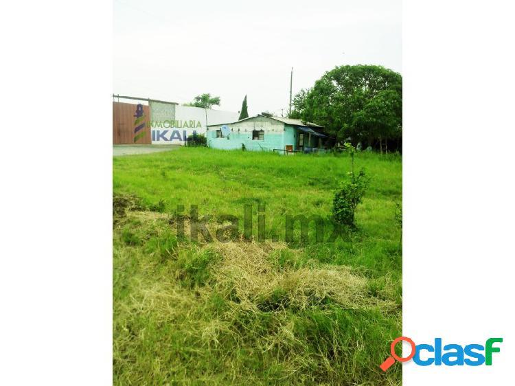 Renta terreno 611 m² col. ruiz rodriguez tuxpan veracruz., enrique rodriguez cano ampliación