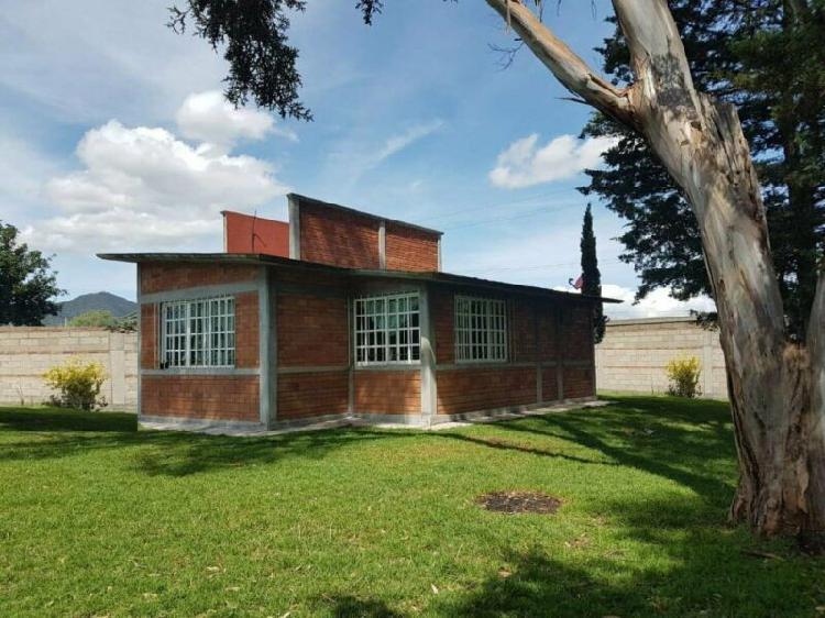 Rancho en venta en jiquipilco 99958 m2 de terreno propiedad